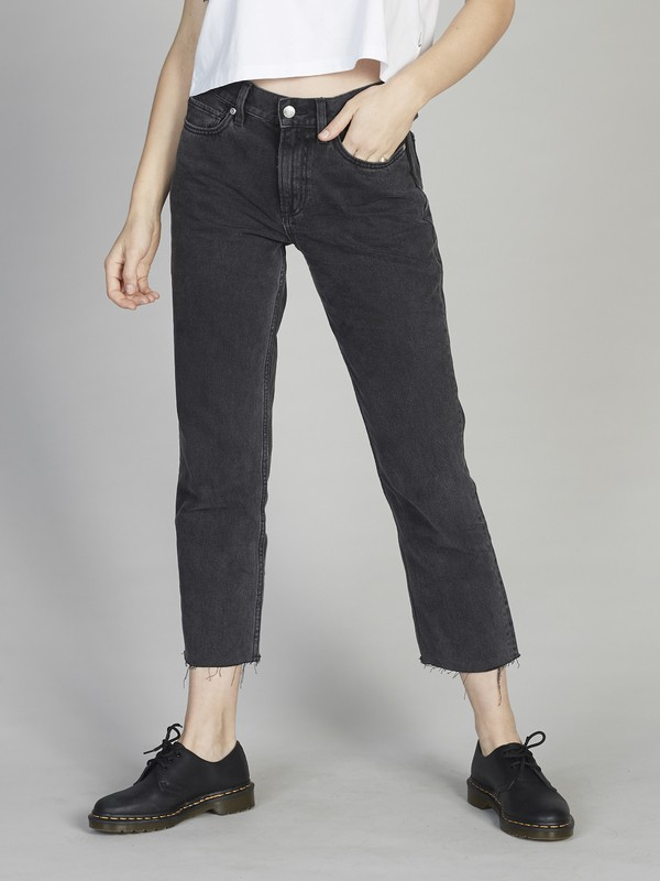 Quiksilver Womens - Cropped Loose Fit Jeans for Women EQWDP03002