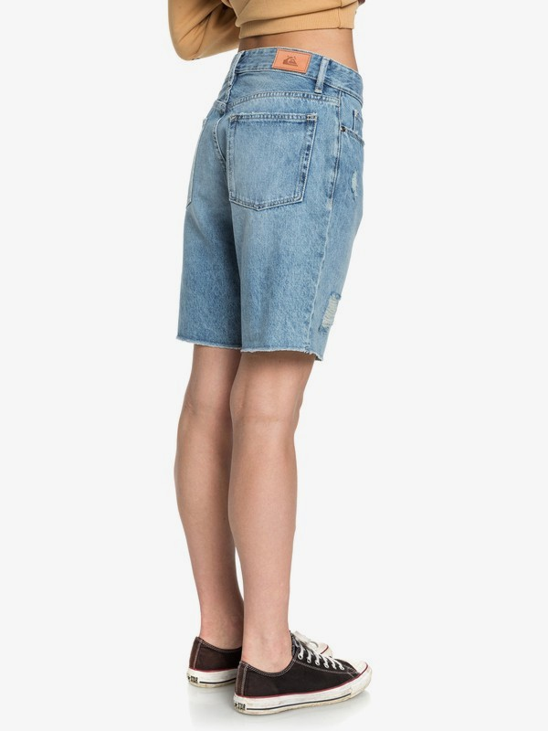 Quiksilver Womens - Baggy Denim Shorts  EQWDS03003