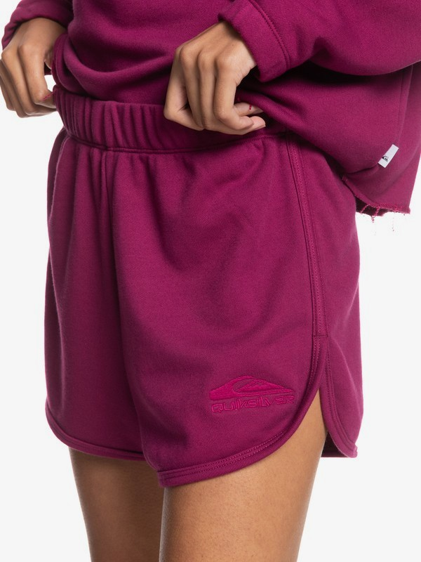 Flying Over - Organic Sweat Shorts for Women  EQWFB03009