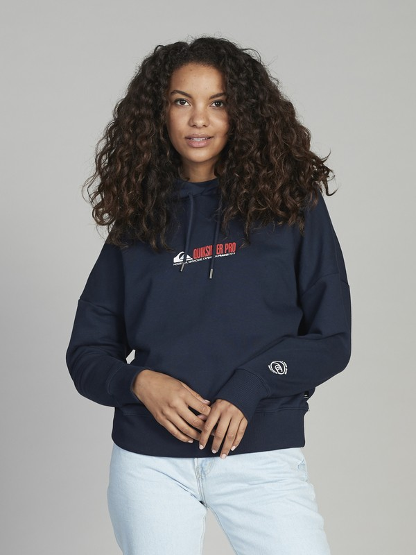 Quiksilver Womens Pro France - Boxy Hoodie for Women  EQWFT03007