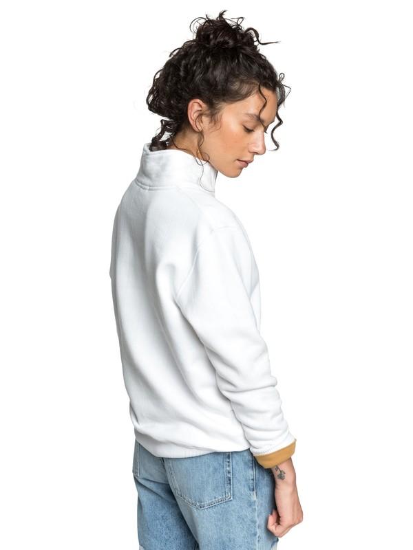 Quiksilver Womens - Boxy Half-Zip Sweatshirt  EQWFT03012