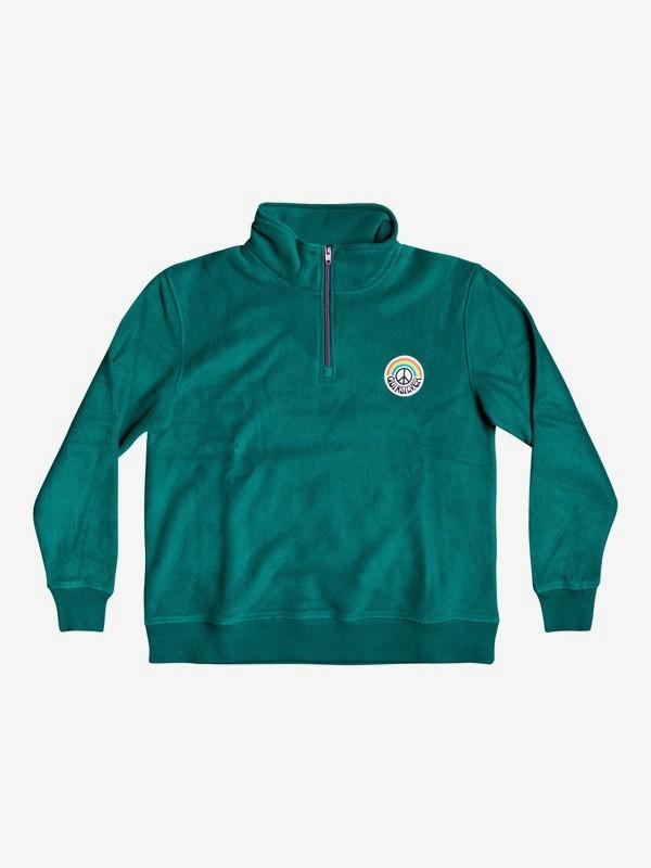Quiksilver Womens - Half-Zip Mock Neck Sweatshirt for Women  EQWFT03020