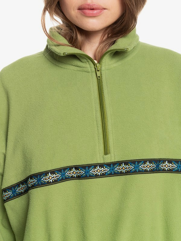 Tribal Polar - Half-Zip Polar Fleece for Women  EQWFT03037