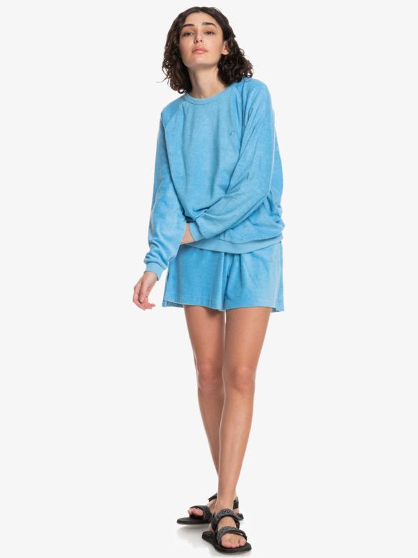 Quiksilver Womens Holiday Spot - Boxy Sweatshirt for Women  EQWFT03052