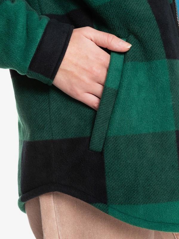Quiksilver Womens Surfer Area - Polar Fleece Jacket for Women  EQWFT03053