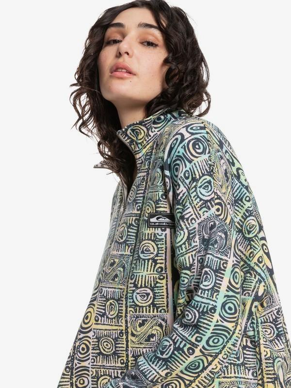Quiksilver Womens Flying Over - Organic Half Zip Sweatshirt for Women  EQWFT03056