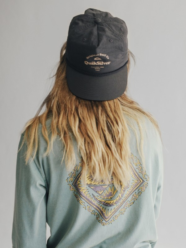 0 Quiksilver Womens - Nylon Snapback Cap Black EQWHA03000 Quiksilver