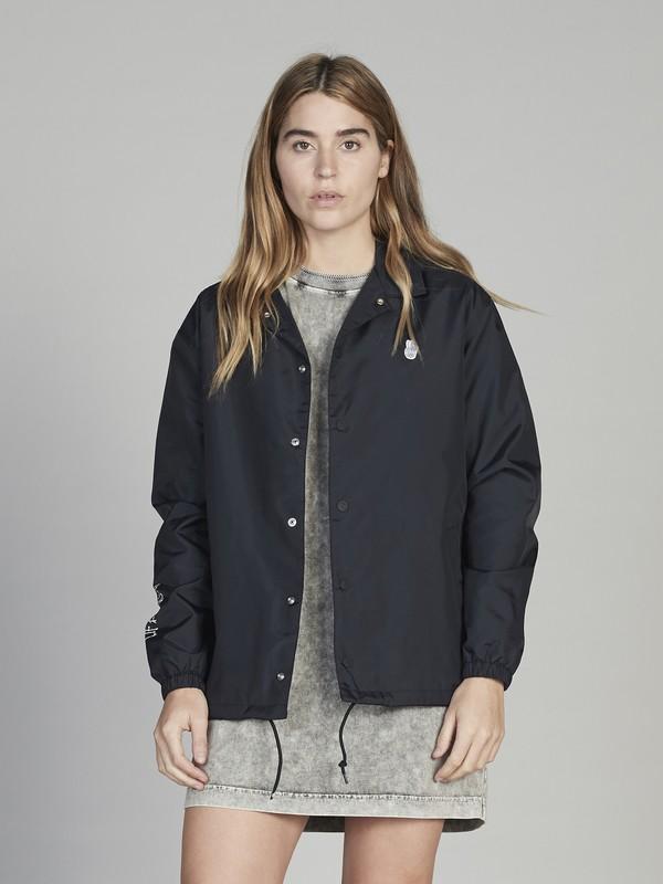 0 Quiksilver Womens - Veste sportswear pour Femme Noir EQWJK03003 Quiksilver