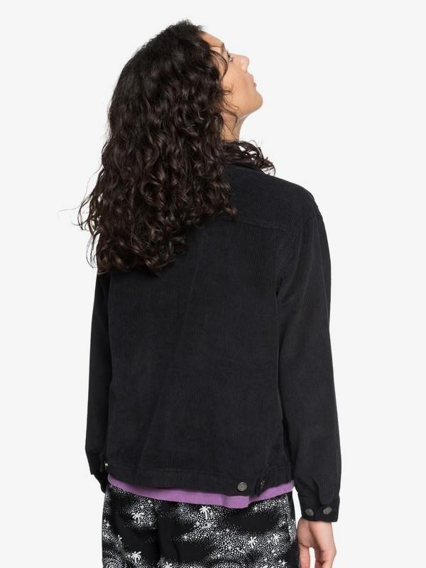Quiksilver Womens - Boxy Corduroy Zip-Up Jacket  EQWJK03009
