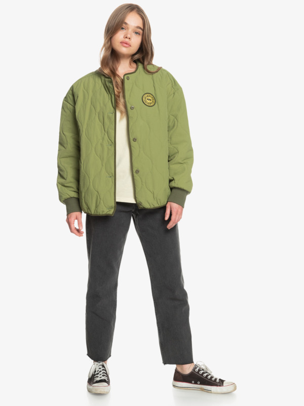 Dune Scape - Puffer Jacket for Women  EQWJK03021