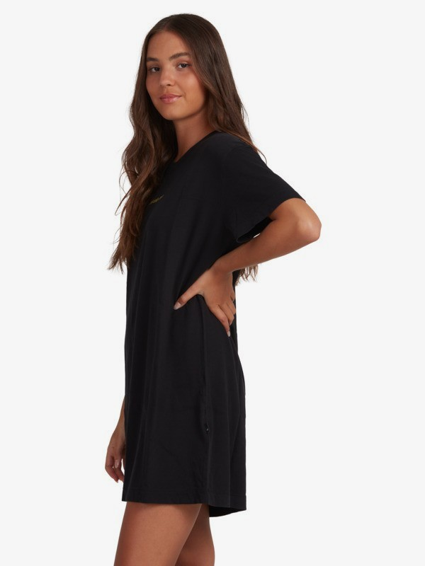 Standard - Organic Short Sleeve T-Shirt Dress for Women  EQWKD03005