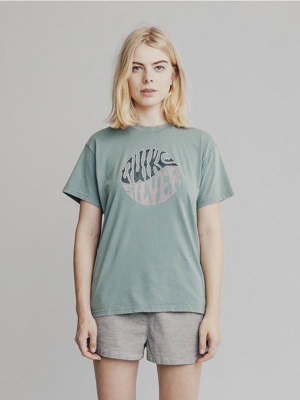 0 Quiksilver Womens - T-shirt pour Femme Bleu EQWKT03001 Quiksilver