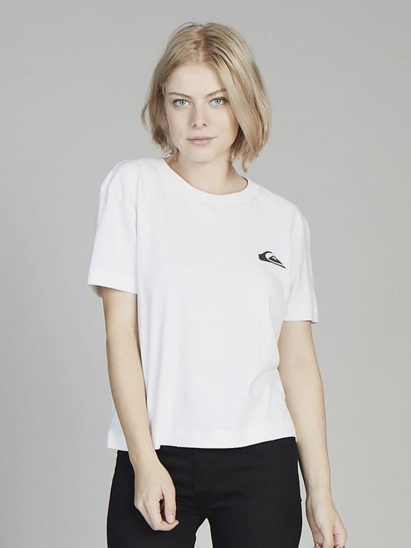 Quiksilver Womens - Cropped T-Shirt  EQWKT03003
