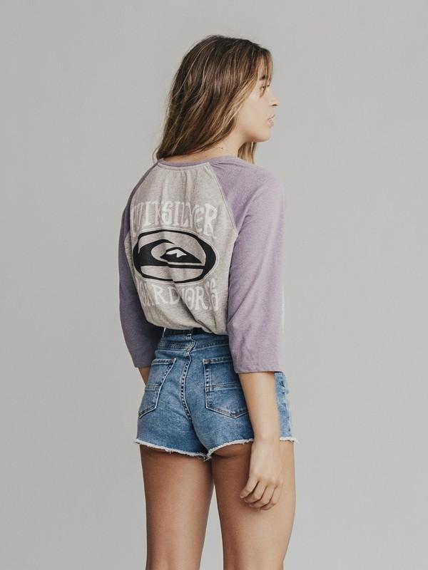 Quiksilver Womens - 3/4 Sleeve T-Shirt  EQWKT03004