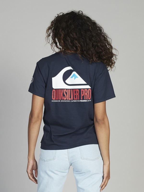 Quiksilver Womens Pro France - T-Shirt for Women  EQWKT03023