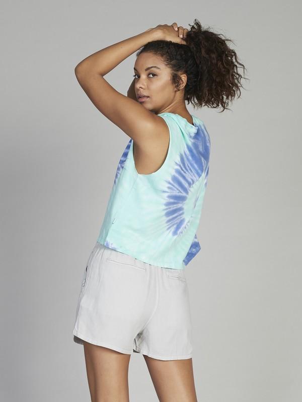 Quiksilver Womens - Cropped Sleeveless T-Shirt  EQWKT03024