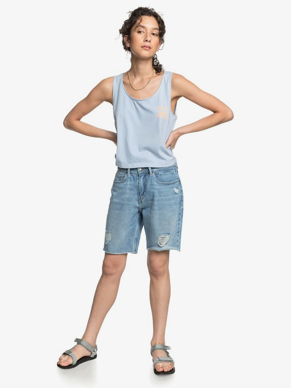 Quiksilver Womens - Cropped Boxy Vest Top  EQWKT03031