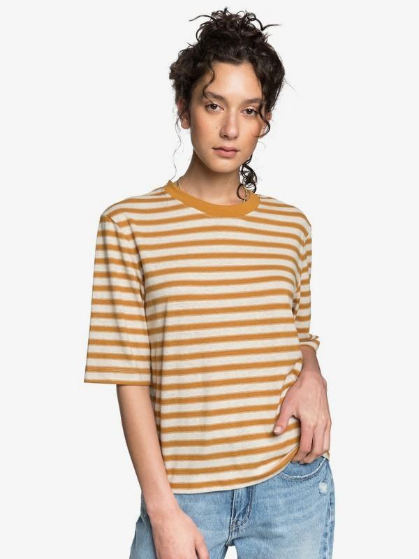 Quiksilver Womens - Loose Mid-Sleeve T-Shirt  EQWKT03035