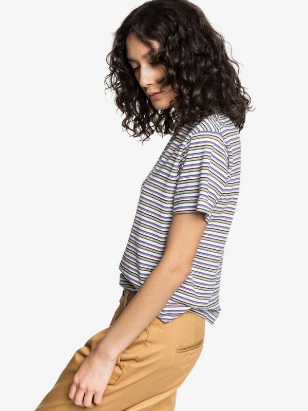 Quiksilver Womens - Cropped T-Shirt  EQWKT03038