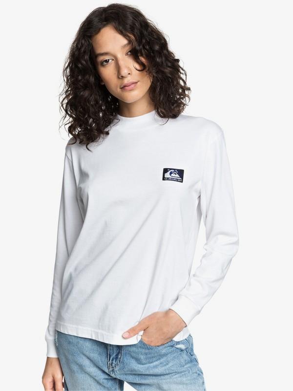 Quiksilver Womens - Long Sleeve Mock Neck T-Shirt  EQWKT03039