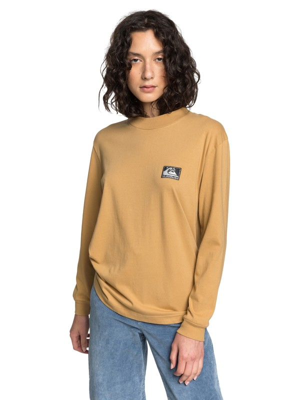 Quiksilver Womens - Long Sleeve Mock Neck T-Shirt  EQWKT03039