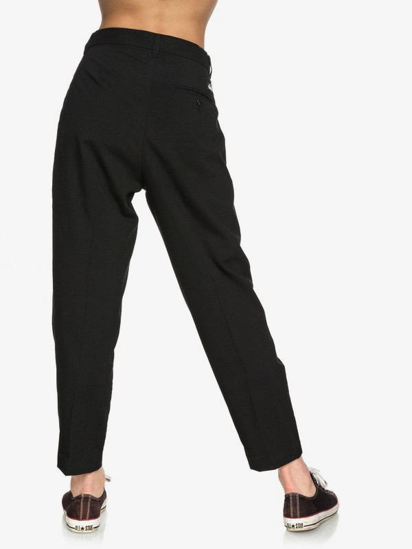 Quiksilver Womens - Cropped Tapered Suit Trousers  EQWNP03011