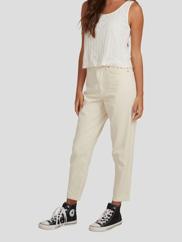 Infinity Time - Organic Mom Fit Trousers for Women  EQWNP03022