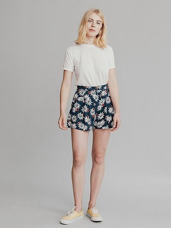 Quiksilver Womens - Viscose Shorts  EQWNS03001