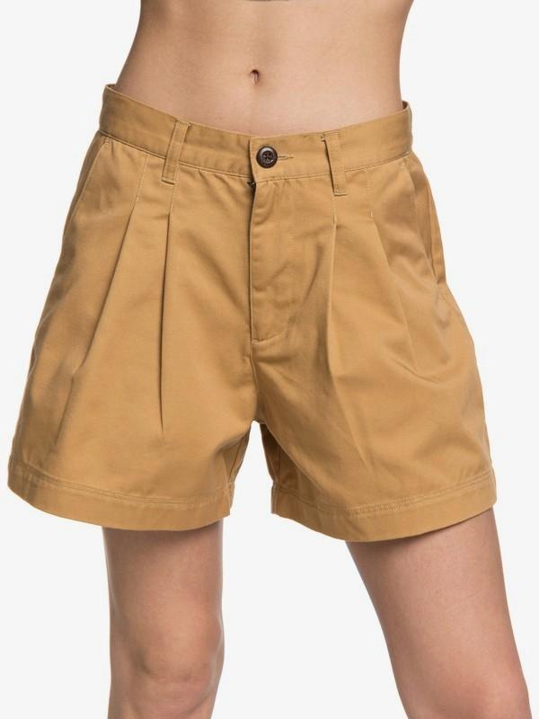 Quiksilver Womens - High Waist Shorts  EQWNS03013