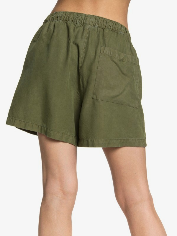 Quiksilver Womens - Elasticated Shorts  EQWNS03015