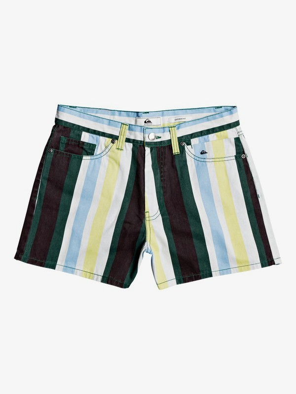 0 Quiksilver Women - Loose Shorts for Women Blanc EQWNS03017 Quiksilver