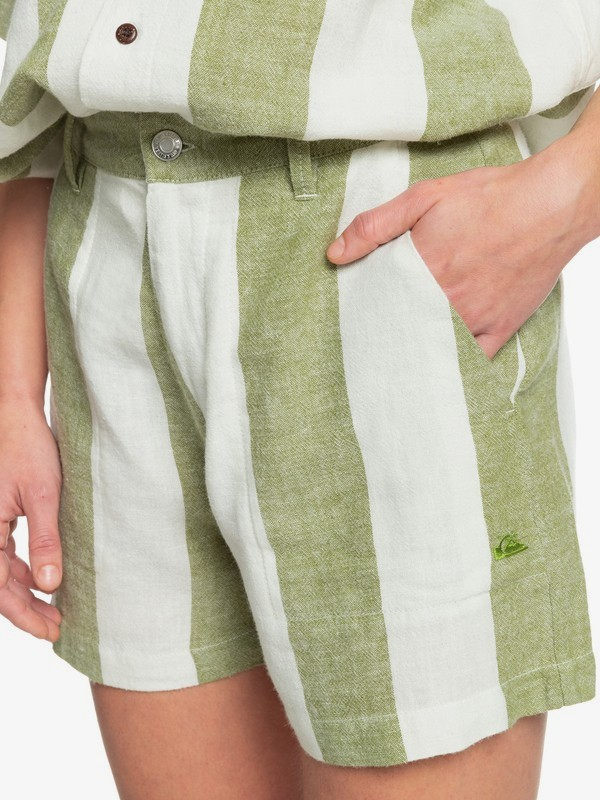 Destination Trip - Linen Shorts for Women  EQWNS03036