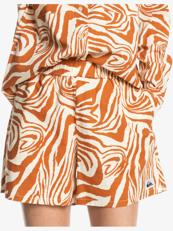 Sunny Daze - Elasticated Shorts for Women  EQWNS03045