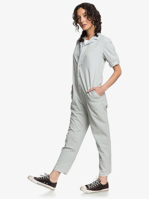 Quiksilver Womens - Mid Sleeve Corduroy Jumpsuit  EQWWD03004