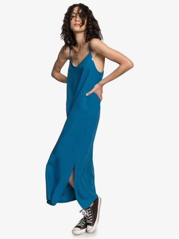 LONG FLUID DRESS  EQWWD03005