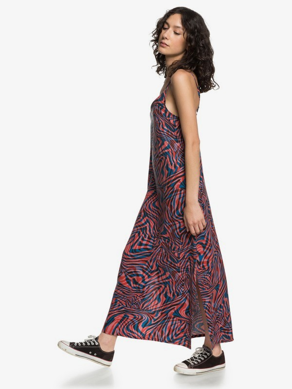 LONG FLUID DRESS  EQWWD03005