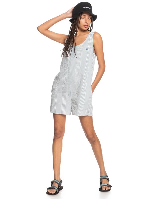 Tribal Ocean - Boxy Jumpsuit for Women  EQWWD03014
