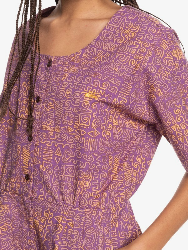Tribal Riders - Short Sleeves Playsuit for Women  EQWWD03015