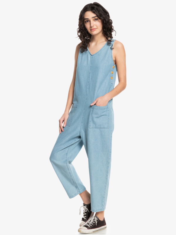 Quiksilver Womens Lounge About - Sleeveless Jumpsuit for Women  EQWWD03030