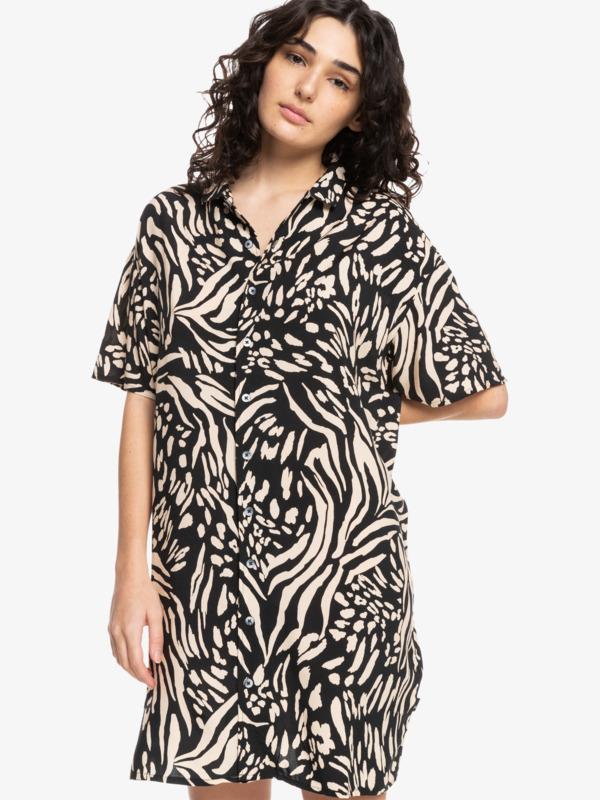 Quiksilver Womens Sunny Ride - Short Sleeve Shirt Dress for Women  EQWWD03031