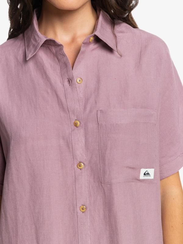 Forever Classic - Short Sleeve Shirt Dress for Women  EQWWD03047