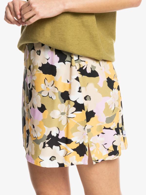 Split Mini - Midi Skirt for Women  EQWWK03003