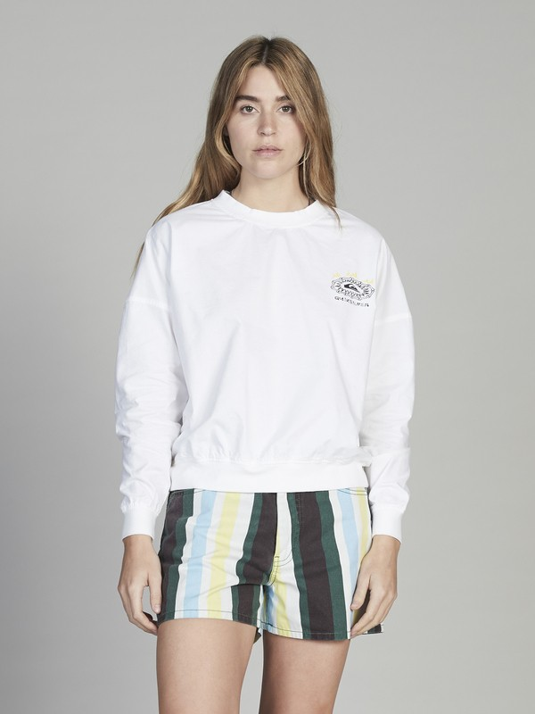 Quiksilver Womens - Cropped Sweatshirt for Women  EQWWT03013