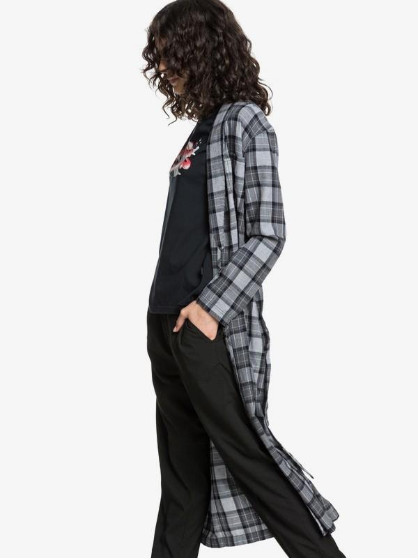 Quiksilver Womens - Long Sleeve Extra-Long Wrap Shirt  EQWWT03025