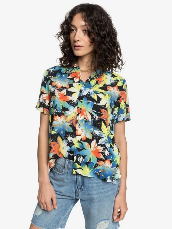 Quiksilver Womens - Short Sleeve Camp Shirt  EQWWT03028