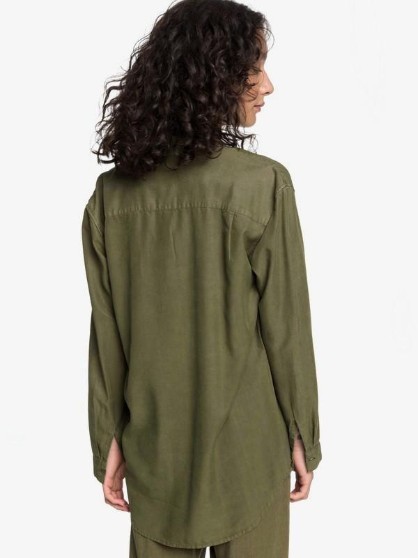 Quiksilver Womens - Loose Longline Long Sleeve Shirt  EQWWT03030
