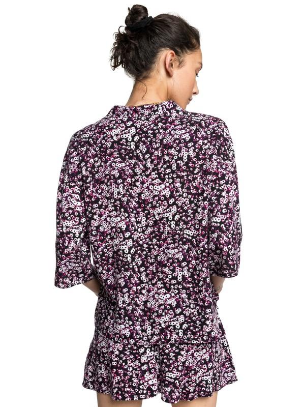 Quiksilver Womens - Short Sleeve Camp Shirt for Women EQWWT03040