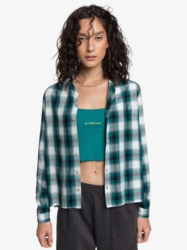 Quiksilver Womens - Long Sleeve Camp Shirt for Women  EQWWT03042