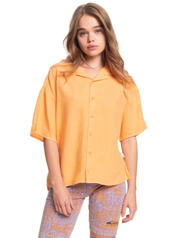 Surf Camp - Boxy Camp Shirt for Women  EQWWT03052