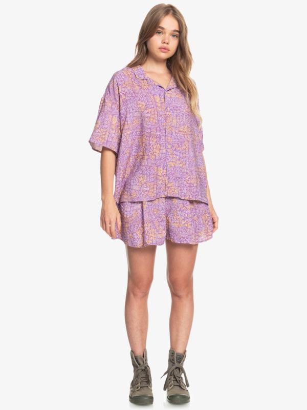 Sunny Ride - Boxy Camp Shirt for Women  EQWWT03053